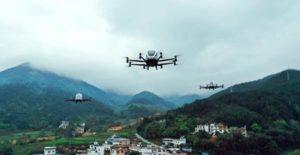 voiture volante autonome Ehang 216