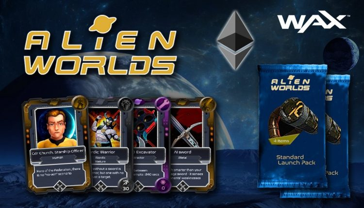 Packs de cartes Alien Worlds