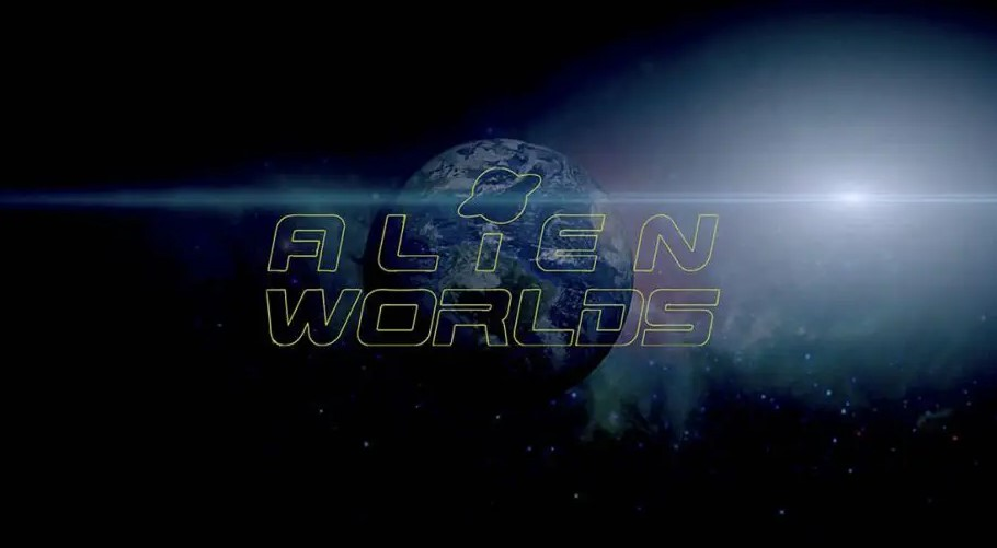 Découvrez le jeu Alien Worlds