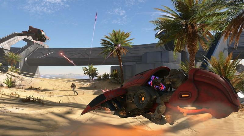 Les véhicules dans le jeu vidéo Halo Infinite