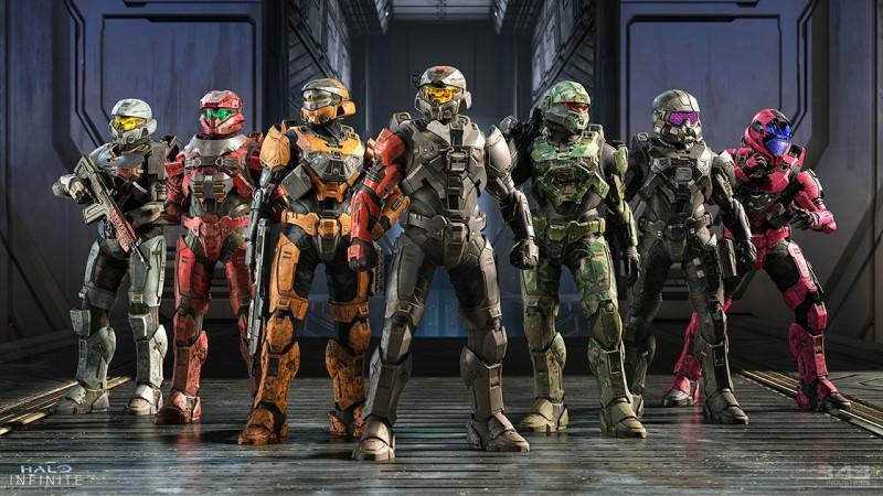 Exemples de personnalisation de Spartan dans Halo Infinite